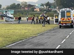 Air Ambulances On Rescue Mission In Remote Areas Of Rain-Hit Uttarakhand