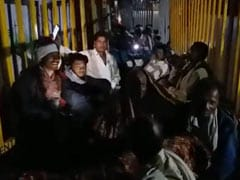 Farmers Spend Night In Queue As Madhya Pradesh Fertiliser Crisis Drags On