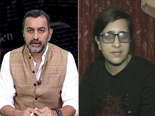 """Video : """"No Fear In My Eyes"""": Daughter Of Kashmir Chemist Killed By Terrorists"""
