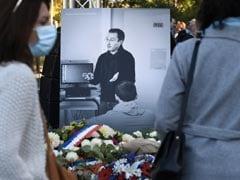 """Victim Of Cowardice"": France Pays Tribute To Teacher Beheaded Over Prophet Cartoons"