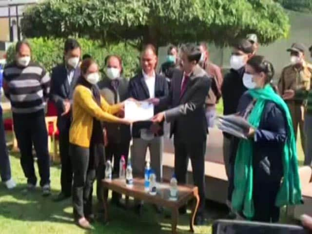 Video : J&K Achieves 100% Vaccination For First Dose