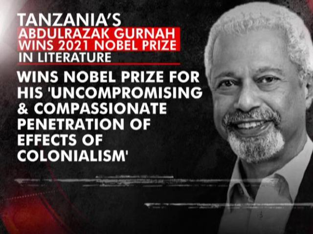 Video : Tanzanian-Born Novelist Abdulrazak Gurnah Gets Nobel Prize In Literature