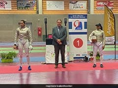 Bhavani Devi Wins Fencing Competition In France