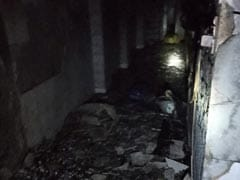 Three Hurt As Fire Breaks Out In A Guest House In Delhi