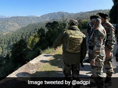 Army Chief Visits Forward Areas Along LoC Amid Rise In Terror Activity
