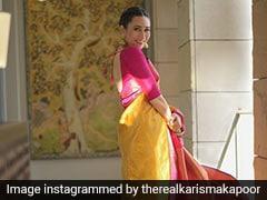 Karisma Kapoor's Kanjeevaram <i>Saree</i> Is The Traditional <i>Saree</i> Of Our Dreams