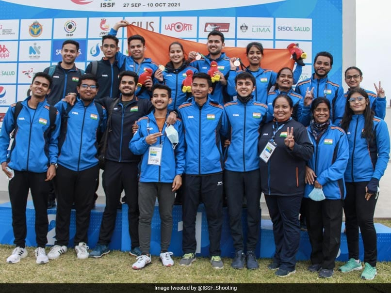 ISSF Junior World Championship: India Bags All Medals On Final Day, Top Standings With 40 Medals