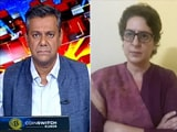 """Video : """"They Can Detain Me for Years"""": Priyanka Gandhi Vadra To NDTV"""