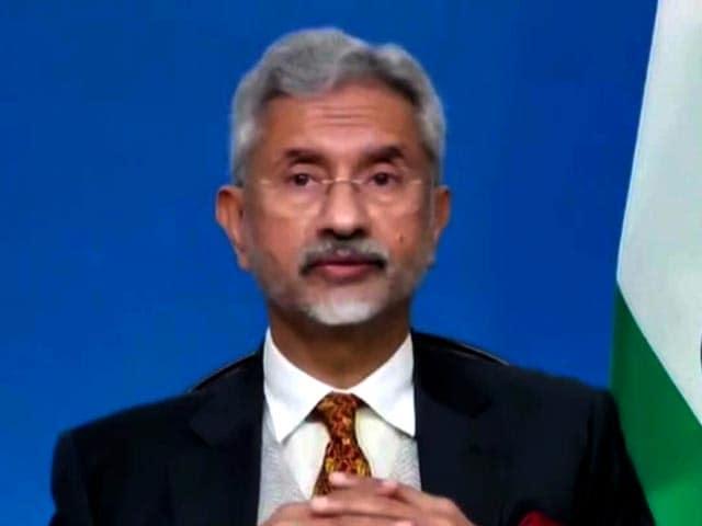 Video : India-US Relations Progressing, Says External Affairs Minister S Jaishankar