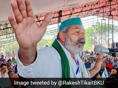 Rakesh Tikait's Subtle Hint To Voters For Haryana Bypoll, With Disclaimer