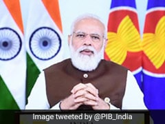 PM Modi Exchanged Views On Regional, Global Issues At 18th ASEAN-India Summit