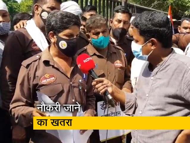 Video : दिल्ली में कलस्टर बसों के कर्मियों पर संकट, 5 से 6 हजार लोगों की नौकरी पर बनी