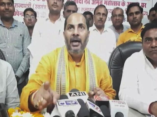"""Video : """"95% Indians Don't Need Petrol"""": UP Minister's Reply On Fuel Price Hike"""