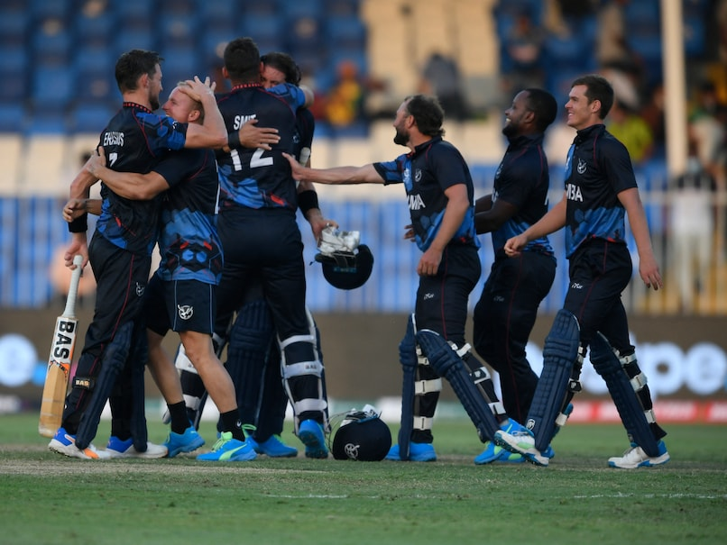 T20 World Cup: Namibia Make History With Qualification To Super 12s