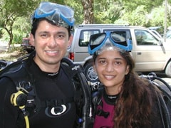 """When Madhuri Dixit Learned Scuba Diving In A """"Hot Parking Lot"""" During Summer In Florida"""