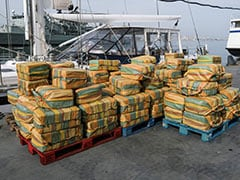 In Record Haul, Over 5 Tonnes Of Cocaine Seized From Portugal's Coast