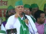 Video : Sonia Gandhi's 'Let's Fix It' Call To Lalu Yadav After He Taunts Congress