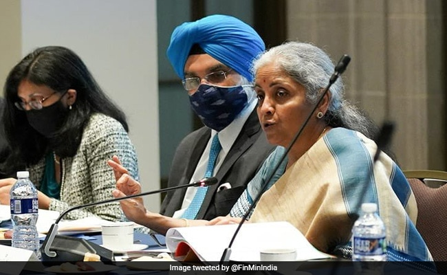 US Industry Body Hosts Nirmala Sitharaman; Praises India's Reform Trajectory