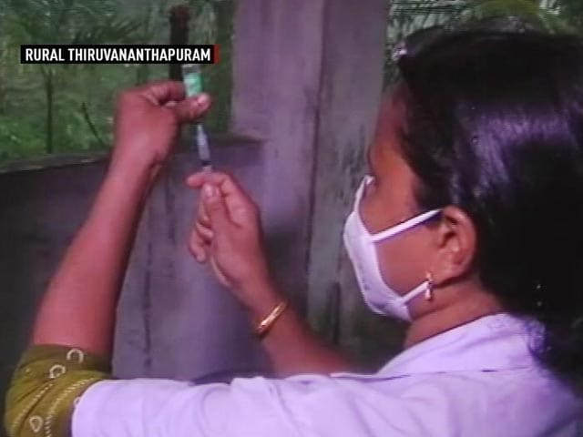 Video : Watch: How Vaccines Reached Remotest Parts Of India