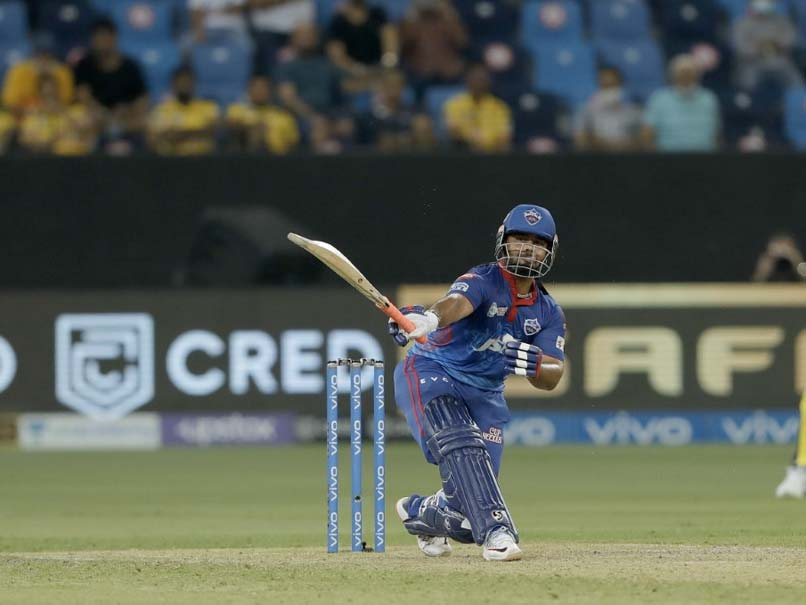 """""""Shot Remains Same"""": Twitter In Awe As Rishabh Pant Hits Two One-Handed Sixes vs Chennai Super Kings"""