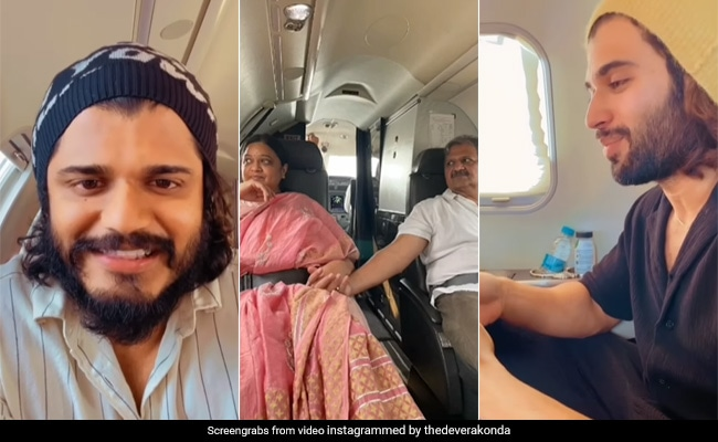 Vijay Deverakonda's Family Flies On A Private Jet For The First Time. What Went Down