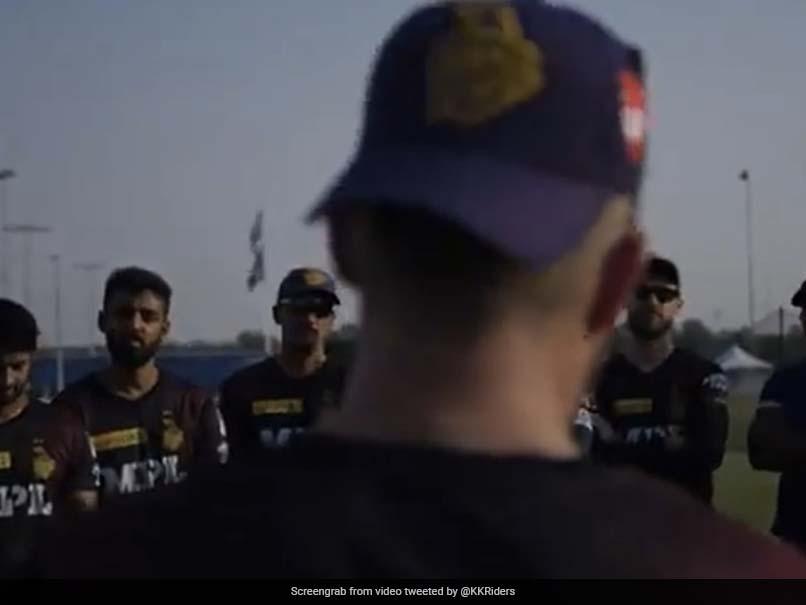 """Imagine That Journey"": How Brendon McCullum Rallied Kolkata Knight Riders Players With Rousing Speech Ahead Of IPL 2021 UAE Leg. Watch"