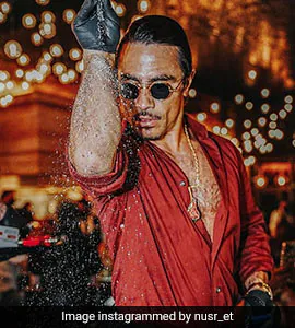 Critic Decides To Eat Kebabs Instead Of Reviewing Salt Bae's Restaurant