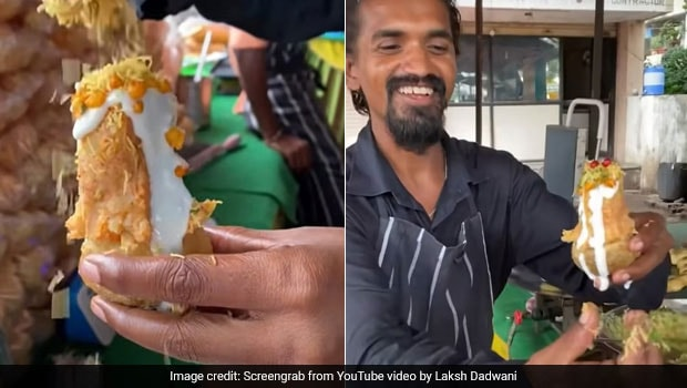Viral Video: This 'Bahubali Pani Puri' Has Grabbed The Attention Of Chaat Lovers