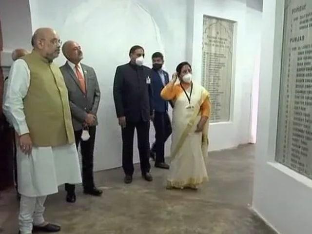"Video : ""Have Some Shame"": Home Minister Amit Shah Attacks VD Savarkar's Critics"