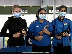ISSF Junior World Championship: India's Naamya Kapoor, 14, Wins Women's 25m Pistol Gold