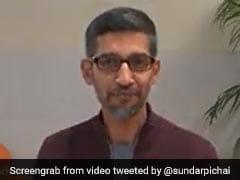 "Watch: ""Can't Believe Google's CEO Is On Mute,"" Sundar Pichai Was Told"