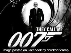 """In Trinamool's Latest Attack, PM Modi As James Bond As A Spin On """"007"""""""