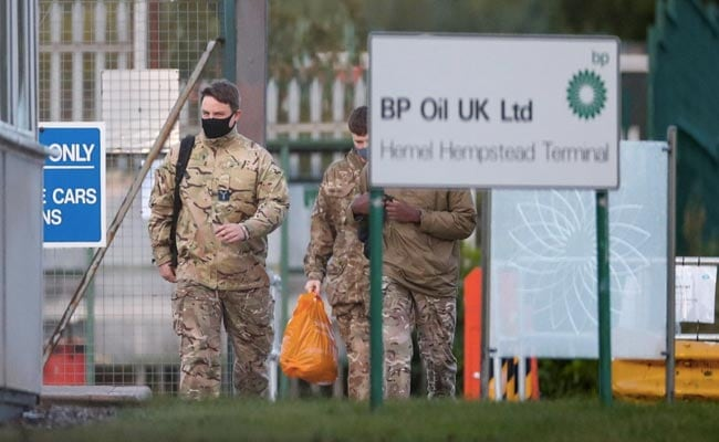 Now, the British Army has been commissioned to resolve the fuel crisis denied by the government