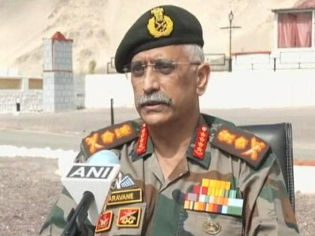 Video : Chinese Troops Deployed In Considerable Numbers Across Ladakh: Army Chief