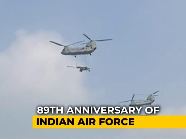 Video : Indian Air Force's Dress Rehearsal Ahead Of Its 89th Anniversary Friday