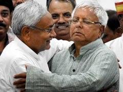 """He Can Get Me Shot..."": Nitish Kumar Laughs Off Lalu Yadav's Poll Dare"