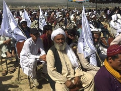 Thousand People Attend Rally Outside Kabul To Show Support For Taliban