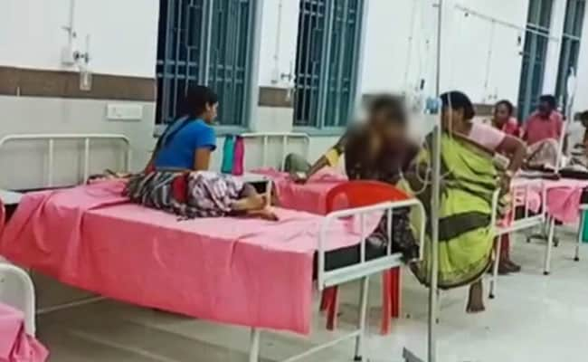 In Chhattisgarh, 51 children, including 100 children, have been admitted to hospital due to food poisoning