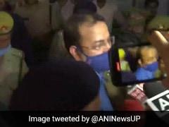 Lakhimpur Violence: Ashish Mishra Interrogated At UP Crime Branch Office