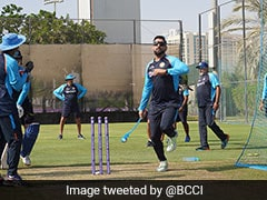 T20 World Cup: MS Dhoni Gives Throwdowns To Batters As Team India Prepare For Pakistan Clash. See Pics