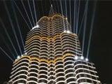Video : Laser Lights Show At Kolkata's 'Burj Khalifa'