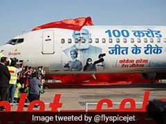 PM, Health Staff's Photo On Plane, SpiceJet Celebrates A Billion Covid Jabs