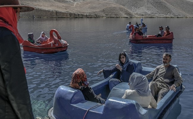 Azure Waters, Limestone Cliffs: Tourists Return To Afghan 'Grand Canyon'