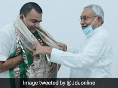 Son Of Estranged Former Leader Joins JD(U) Ahead Of By-Poll