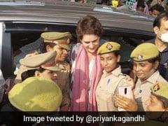 """Heard Yogi-<i>Ji</i>'s So Hurt By This Pic..."": Priyanka Gandhi On Cops' Selfie"