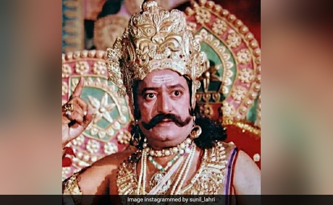 Arvind Trivedi, Best Known As Raavan Of Ramayan, Dies At 82. Sunil Lahri, Arun Govil, Dipika Chikhlia Post Tributes