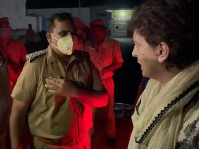 Video : Priyanka Gandhi To NDTV: I'm Arrested But Minister's Son Is Free