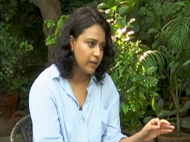 """Video : """"I'm Most Hated Bollywood Personality On Internet"""": Swara Bhasker To NDTV"""