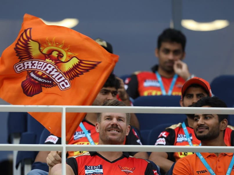 Watch: David Warner Waves SRH Flag From The Stands During IPL 2021 Clash vs KKR In Dubai