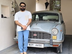 Actor Mohanlal's Throwback Picture With His Hindustan Ambassador Goes Viral